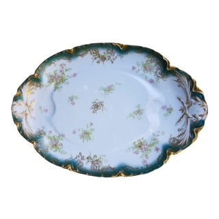 French Limoges Haviland Extra Large Serving Platter For Sale
