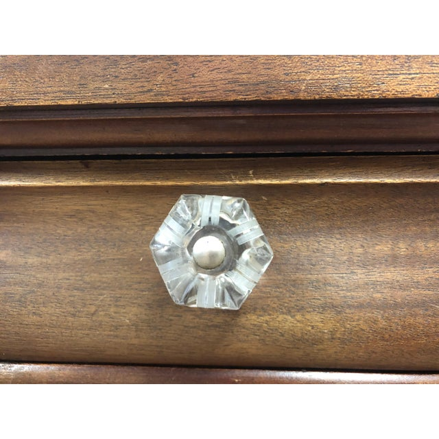 Brown 19th Century Early American Hersee Library Desk For Sale - Image 8 of 10