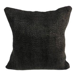 Turkish Boho Chic Handmade Tribal Kilim Sofa Pillow Cover For Sale