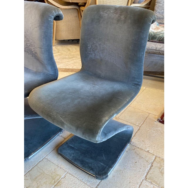 Z Chair designed by Gastone Rinaldi for RIMA.. This striking design from Italy is also comfortable. The chairs are...