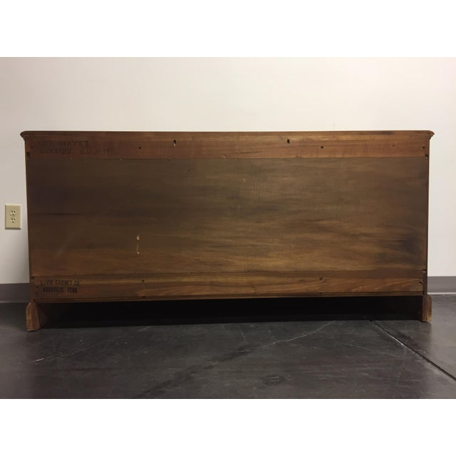 "Solid Wood Kitchen Walnut Cabinets: Davis Cabinet Co Antique Walnut Solid Wood 65"" Buffet"