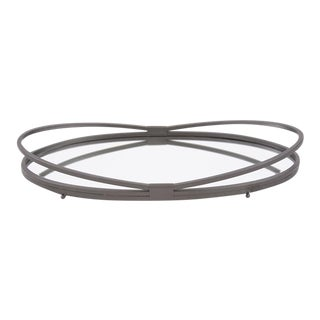 Kenneth Ludwig Oval Iron Tray For Sale