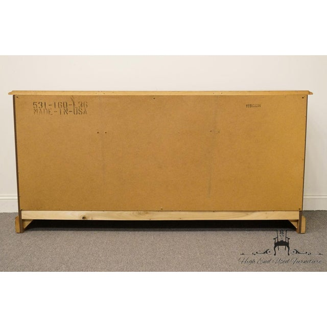"""American Drew Country French Oak 72"""" Triple Door Dresser For Sale - Image 10 of 13"""