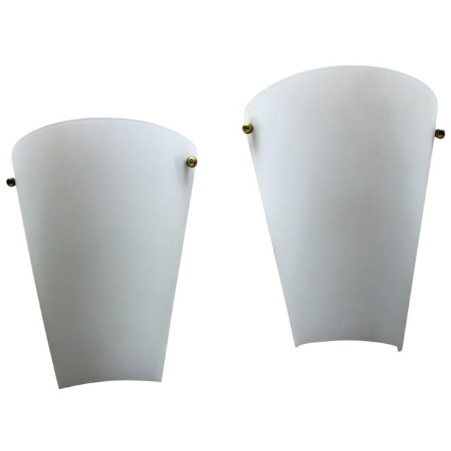 1950s Wall Sconces in Style of Stilnovo - a Pair For Sale