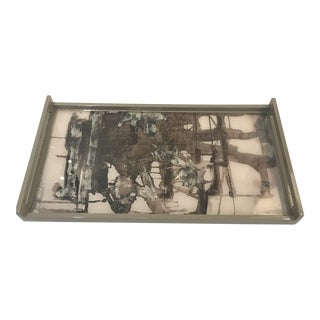 Weylande Gregory Lacquered Tray For Sale