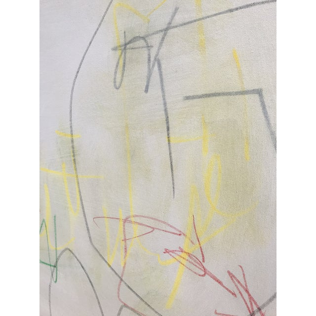 """2010s Sarah Trundle, """"Primary"""", Contemporary Minimalist Painting For Sale - Image 5 of 7"""