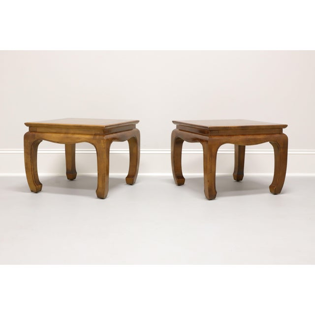 """A pair of Asian style cocktail tables by high-quality furniture maker Century. From their """"Chin Hua"""" line designed by..."""
