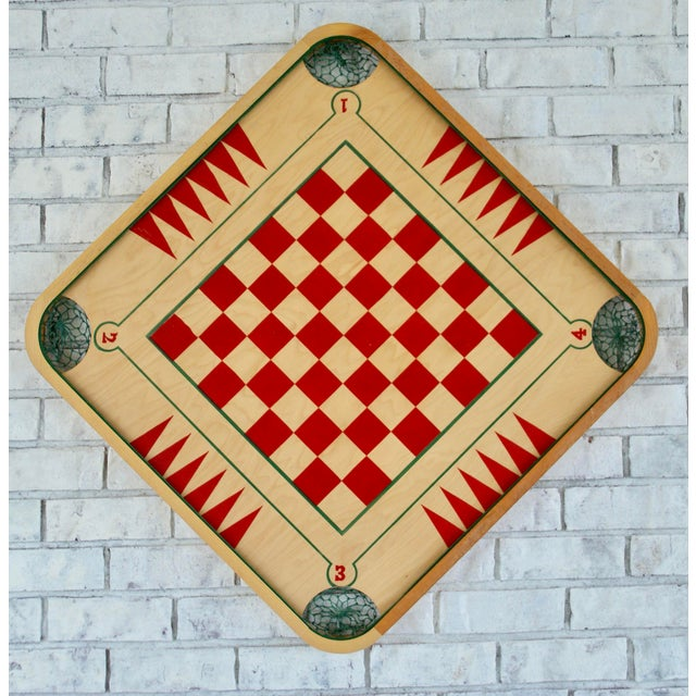 Vintage Mid-Century Game Board - Image 6 of 6