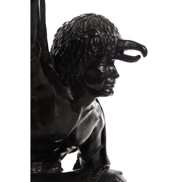 Bettie Moran - Raven Dancer - Native American Indian Bronze Sculpture For Sale In Los Angeles - Image 6 of 11