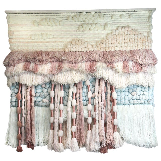 Substantial Hand-Loomed Wall Tapestry - Image 1 of 4