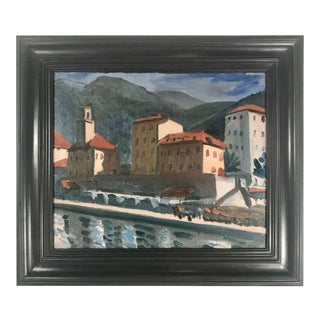 French Impressionist Fauvist Oil Painting by Paul Lucien Maze For Sale