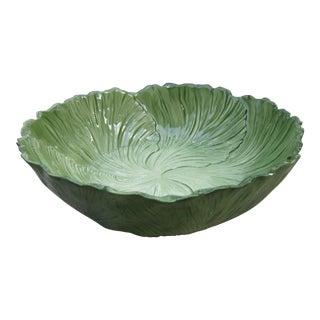 1960s Vintage Cabbage Serving Bowl For Sale