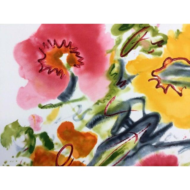 Modern Mid Century Modern Unframed Cosmic Feeling Helen Covensky Hand Signed Lithograph For Sale - Image 3 of 4