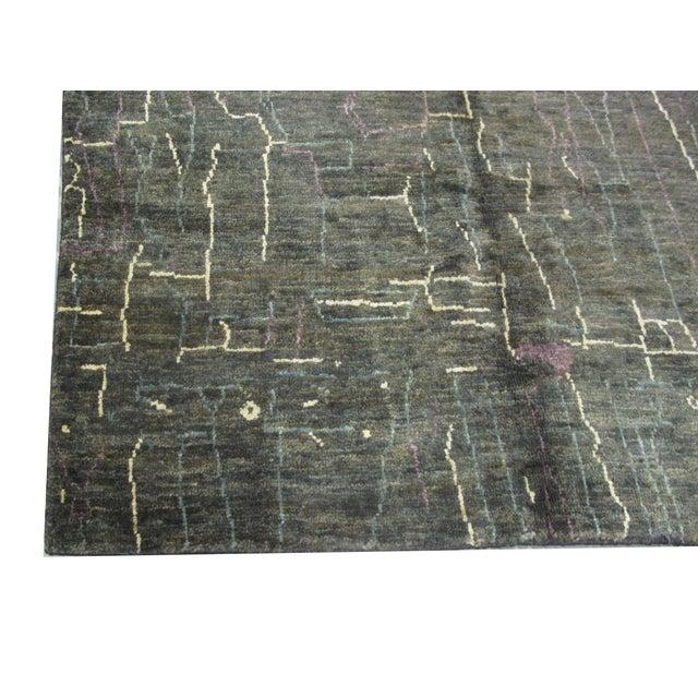 Indian Natural Hemp Rug - 8′ × 9′10″ - Image 2 of 4