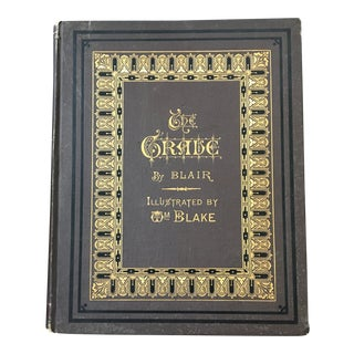 Late 1800s The Grave Illustrated by William Blake For Sale