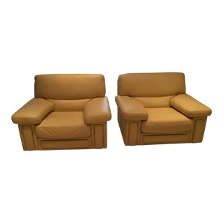 Roche Bobois Club Chairs - a Pair For Sale