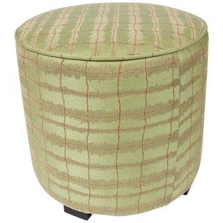 Modern Green Round Moroccan Poufs For Sale