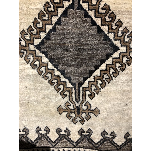 Vintage Persian Gabbeh Rug For Sale - Image 4 of 5