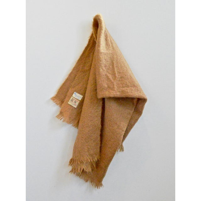 English Scottish Mohair Throw For Sale - Image 3 of 8