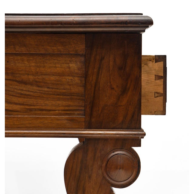 Restoration Period French Walnut Console For Sale In Austin - Image 6 of 10