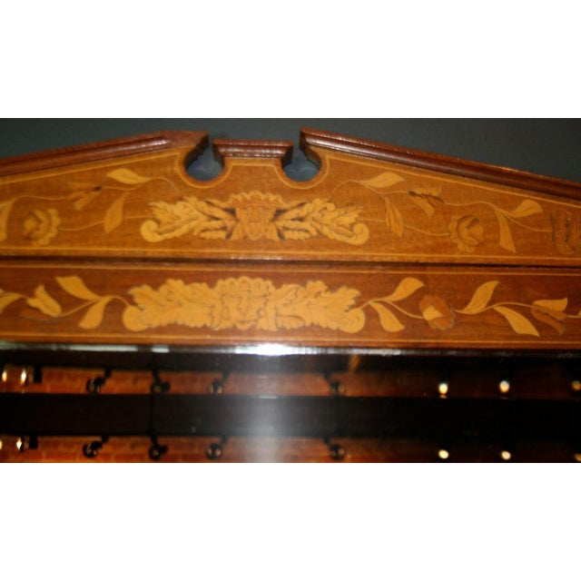 Wood Late 19th Century Dutch Marquetry Dressing Table For Sale - Image 7 of 11