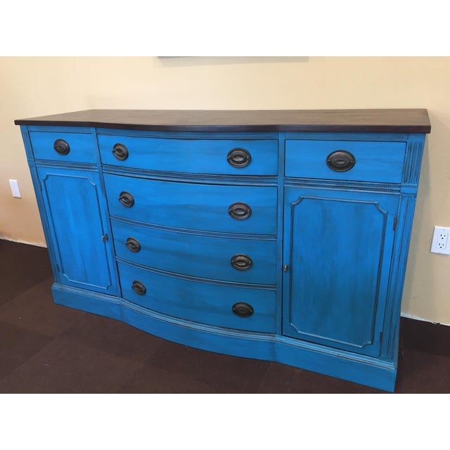 1940s Corinth Blue Credenza - Image 2 of 10
