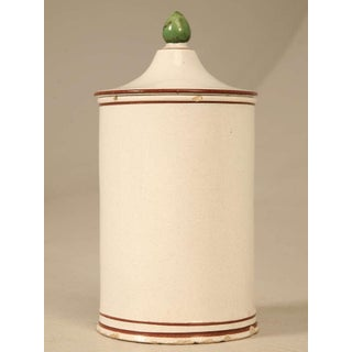 Hand-Painted French Apothecary Jar Preview
