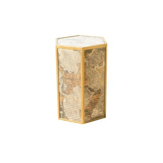 Contemporary Marcus Side Table For Sale