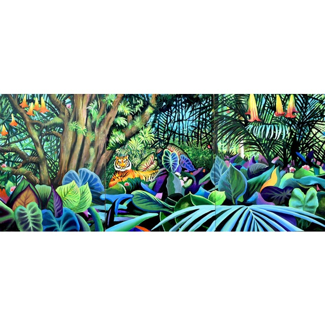 Domain of the Panthera Tigris Triptych - Image 1 of 10