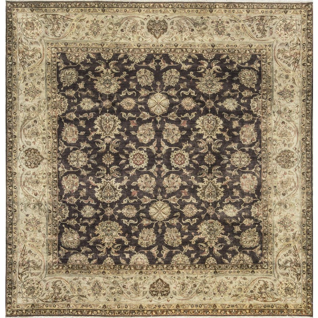 Traditional Hand Woven Rug - 10' X 10'1 For Sale