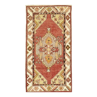 "Modern Pasargad Turkish Sivas Wool Area Rug- 2' 5"" X 4' 8"" For Sale"