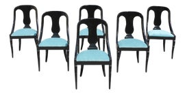 Image of Turquoise Dining Chairs