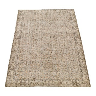 "Vintage Hand Knotted Rug - 5'6"" x 9'1"""