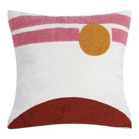 Crewel Embroidery Abstract Cushions & Throw Pillow Covers - # 04 For Sale