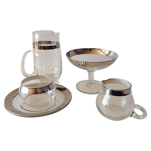 Dorothy Thorpe Assorted Service Ware - Set of 5 - Image 2 of 4