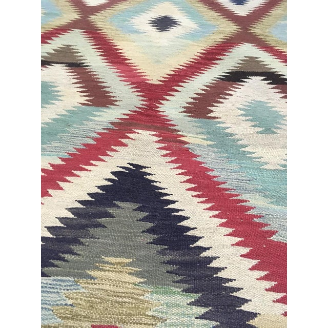 """Hand Knotted Traditional Design Wool Uzbek Rug. 4'8"""" X 6'5"""" For Sale In Los Angeles - Image 6 of 7"""
