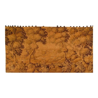 Vintage French Tapestry Rug 5'9'' X 10'11'' For Sale