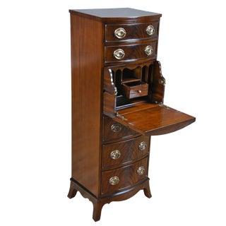 Traditional Hidden Drawer Secretary Desk For Sale