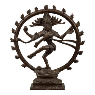 Bronze Hindu Shiva as Lord of the Dance Sculpture For Sale