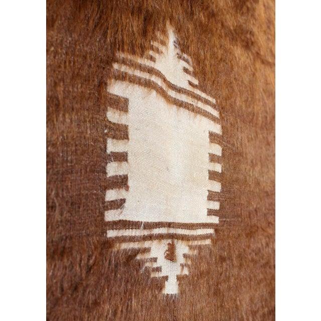 Nomadic Yoruk Tribe Hand-Woven Angora Blanket For Sale - Image 4 of 6