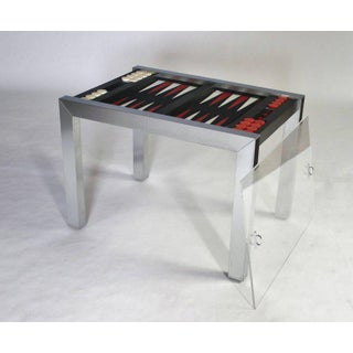 Paul Evans Directional Backgammon Game Table Preview