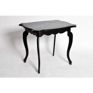 British Colonial Tea Table With Molded Top and Apron Preview