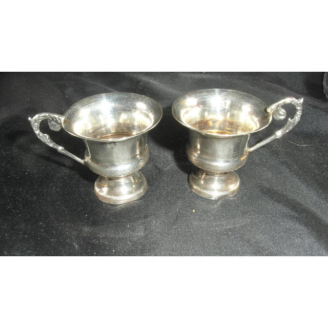 1832 to 1872 Italian Silver Liquor Cups - a Pair For Sale - Image 11 of 11
