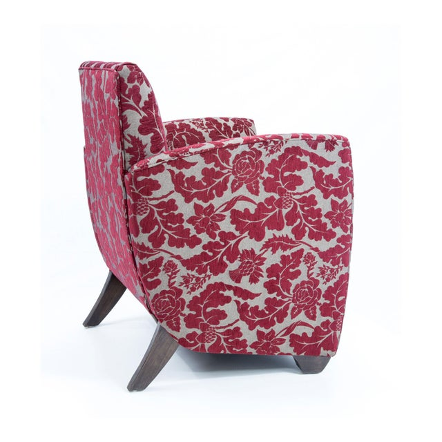 British Airways First Class Club Chair in Red Vine - Image 6 of 10