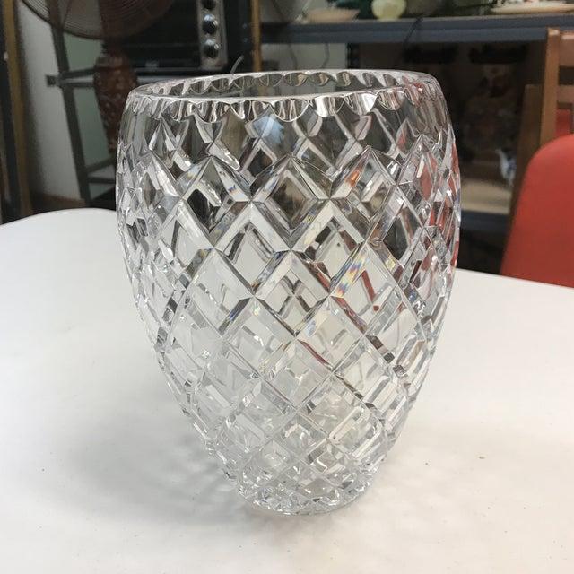 Ceska Clear Crystal Vase Chairish