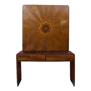 Rare Lajos Kozma Bar Cabinet or Secretary For Sale