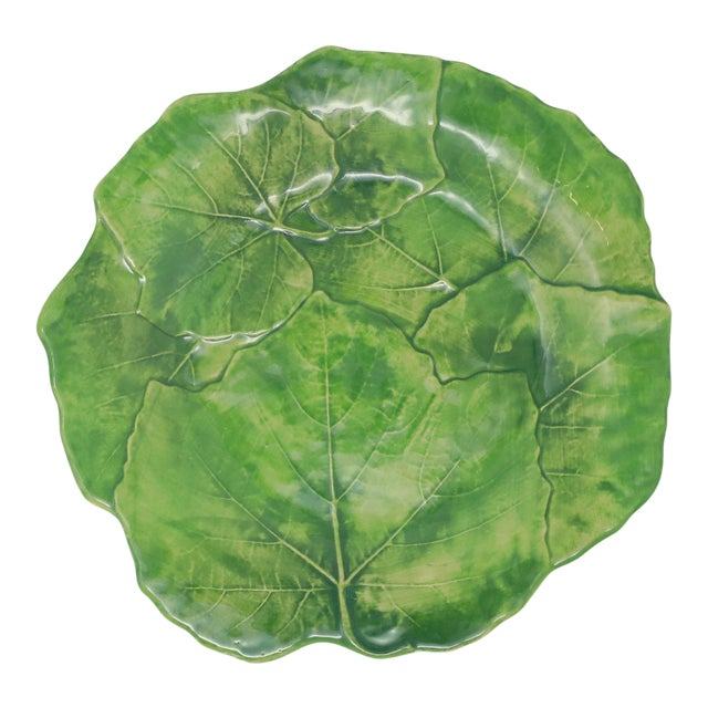 Vietri Foglia Stoneware Salad Plate from Kenneth Ludwig Home For Sale