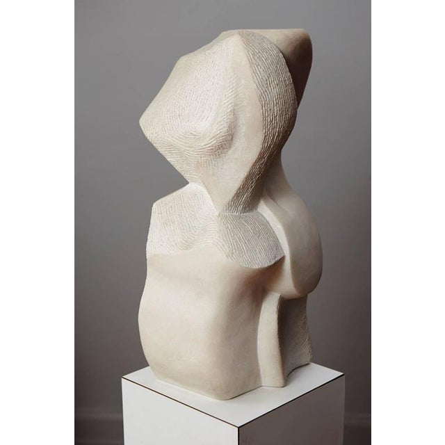 """Artemis"" Modern Portuguese Pink Marble Sculpture by Dolores Singer, 1990 For Sale - Image 5 of 11"