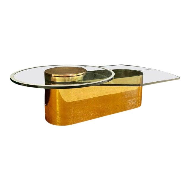 Dakota Jackson Self Winding Coffee Table For Sale
