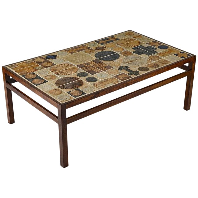 Tue Poulsen Tile Coffee Table - Image 1 of 10